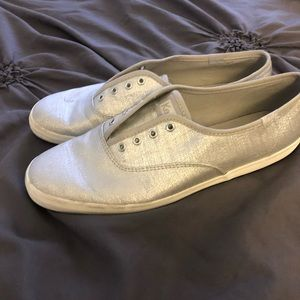 Silver Keds Sneakers (size 9)